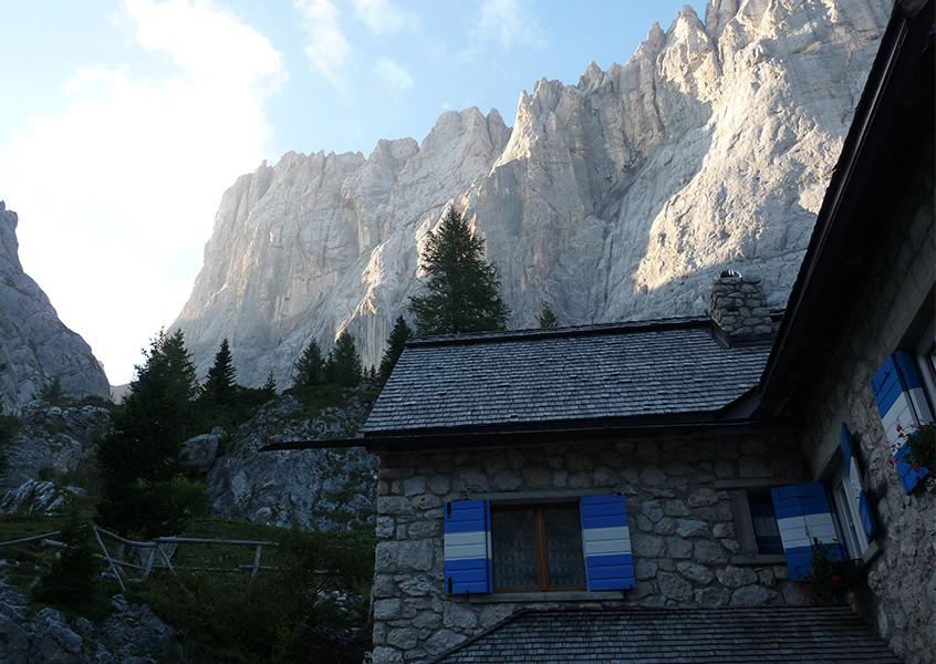 Marmolada Alpinklettern