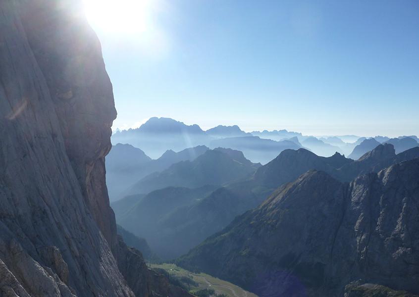Marmolada Klettern