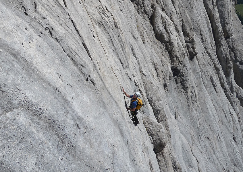Klettern, Marmolada Südwand