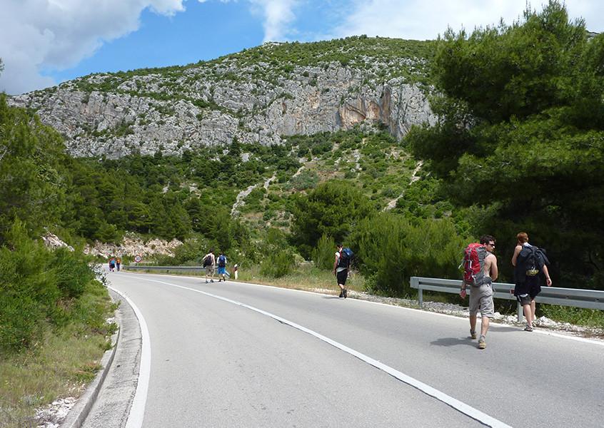 Segeln, Klettern, Kroatien, Meer