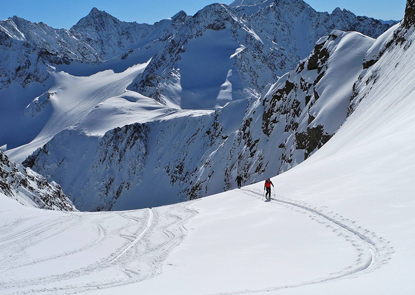 Sellrain Skitour Hütte