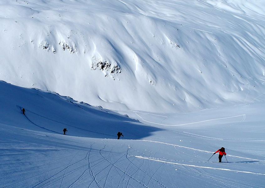 Skitouren im Stubai mit Bergführer