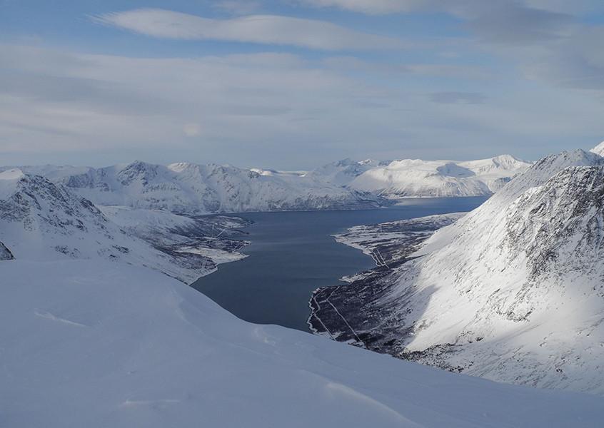 Hjorundfjord Norwegen