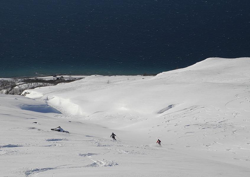 Norwegen Lyngen Skitour