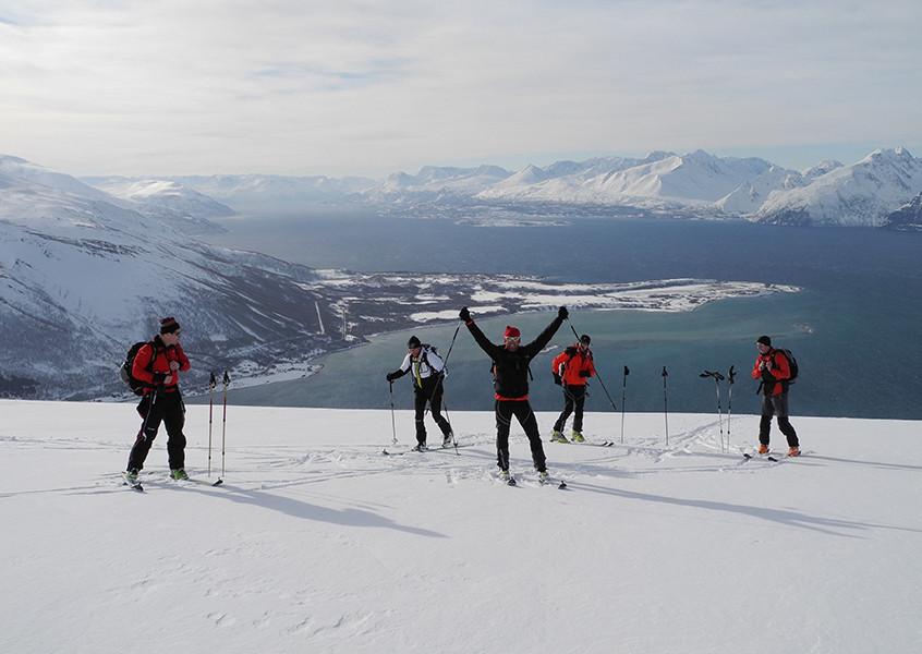 Norwegen Skitouren mit Bergführer