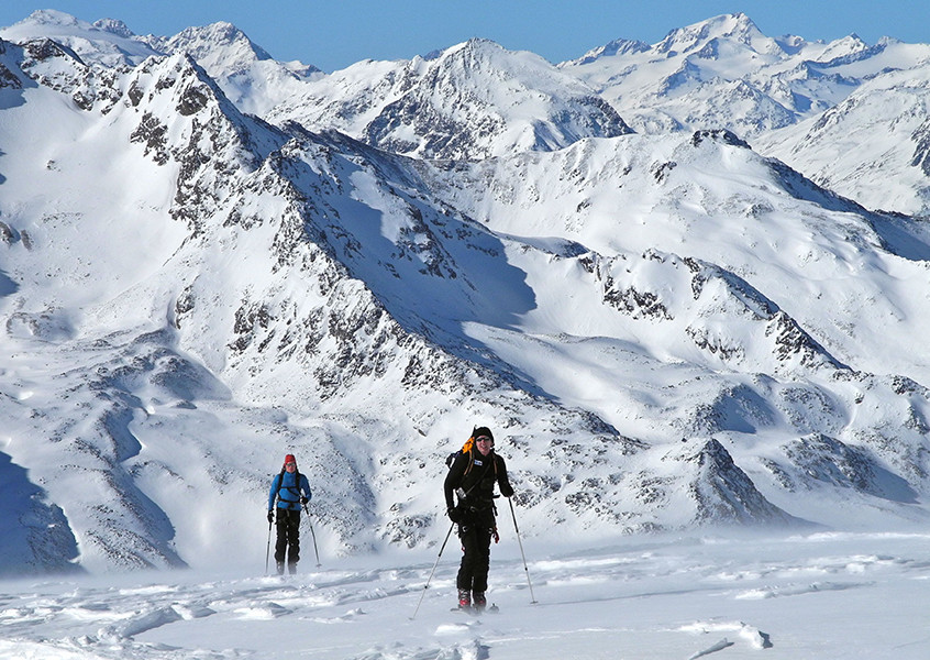 geführte Skitouren im Stubai