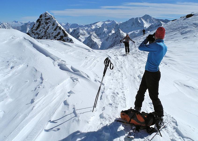 Zuckerhütl Skitour Bergführer