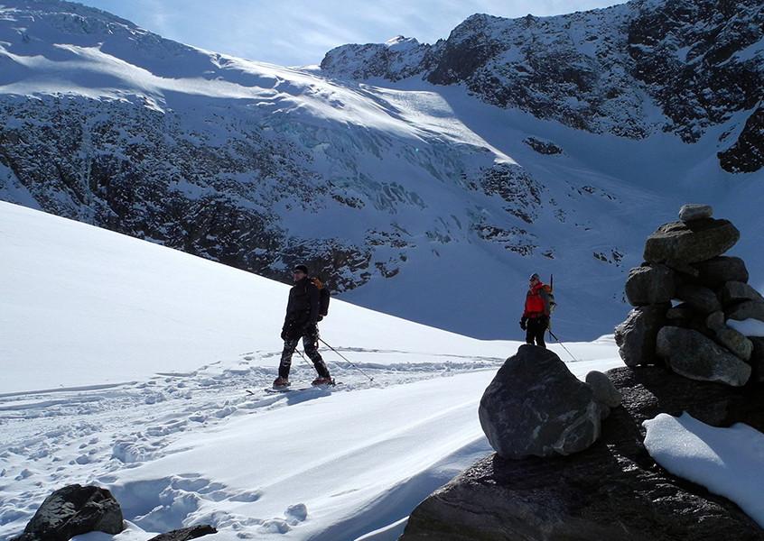 Skitour, Tourenski, Stubai, Österreich