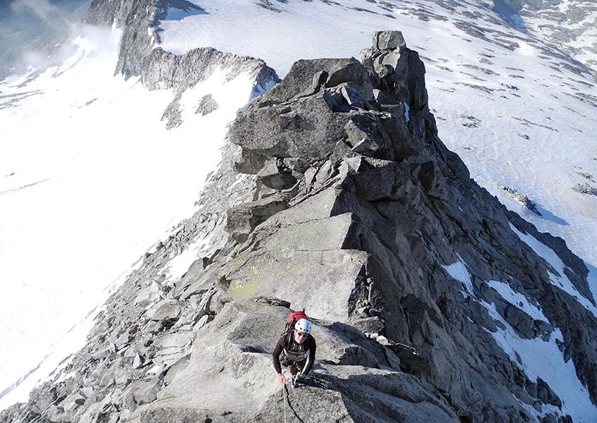Zillertal Hochtour klettern