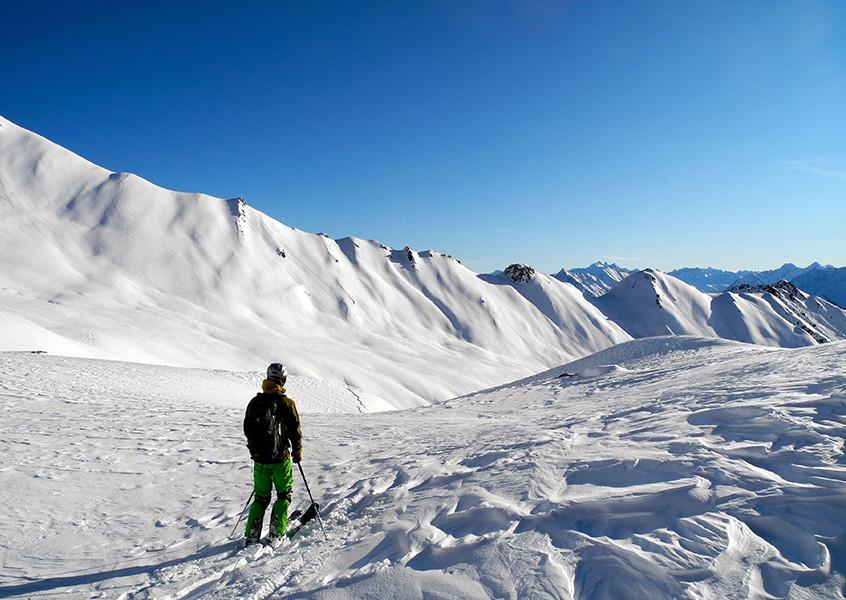 Skitour Hintertux, Tuxer Alpen Skitour