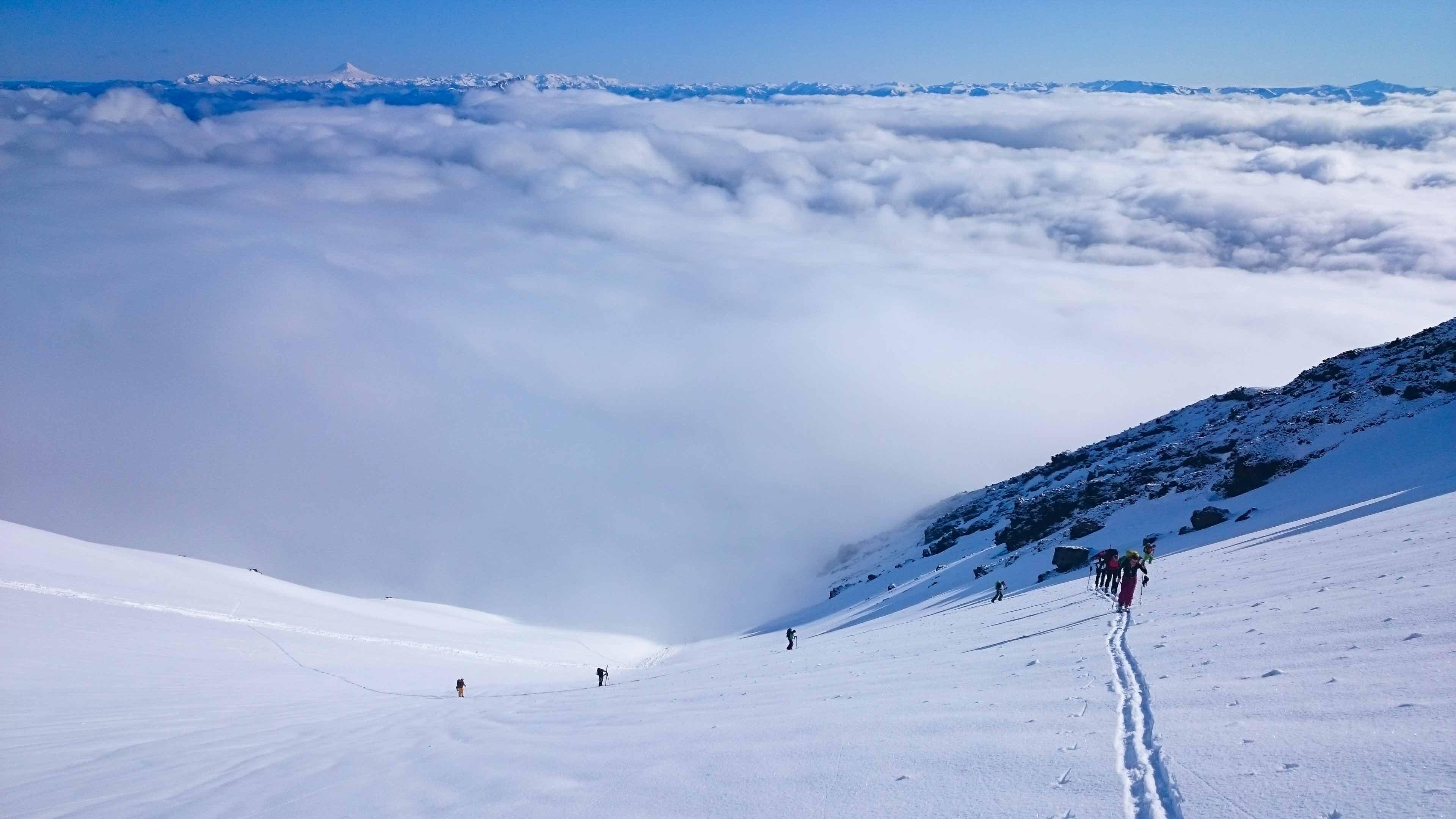 Skitouren Chile Bergführer