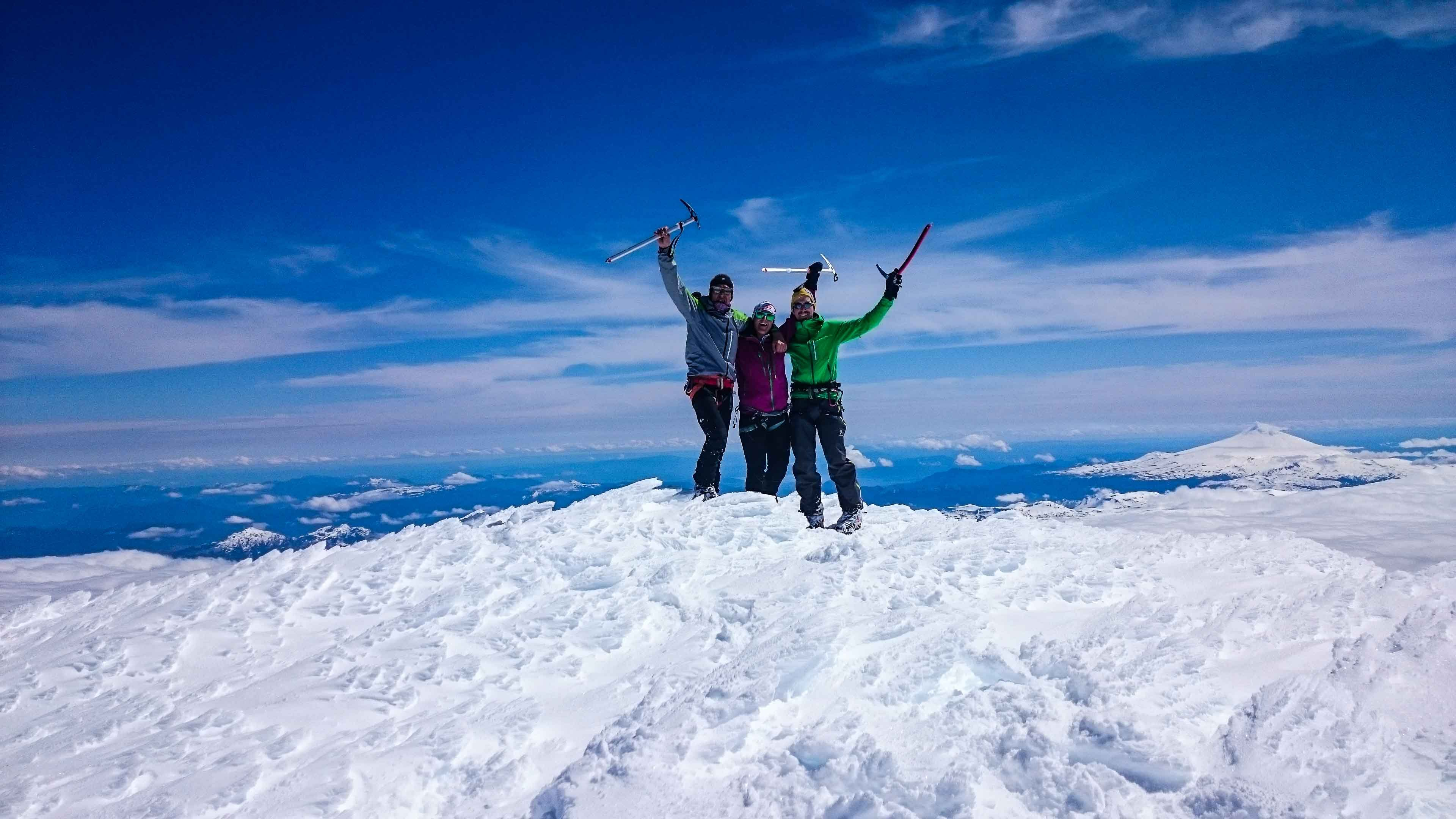 Skitouren in Zentral-Chile