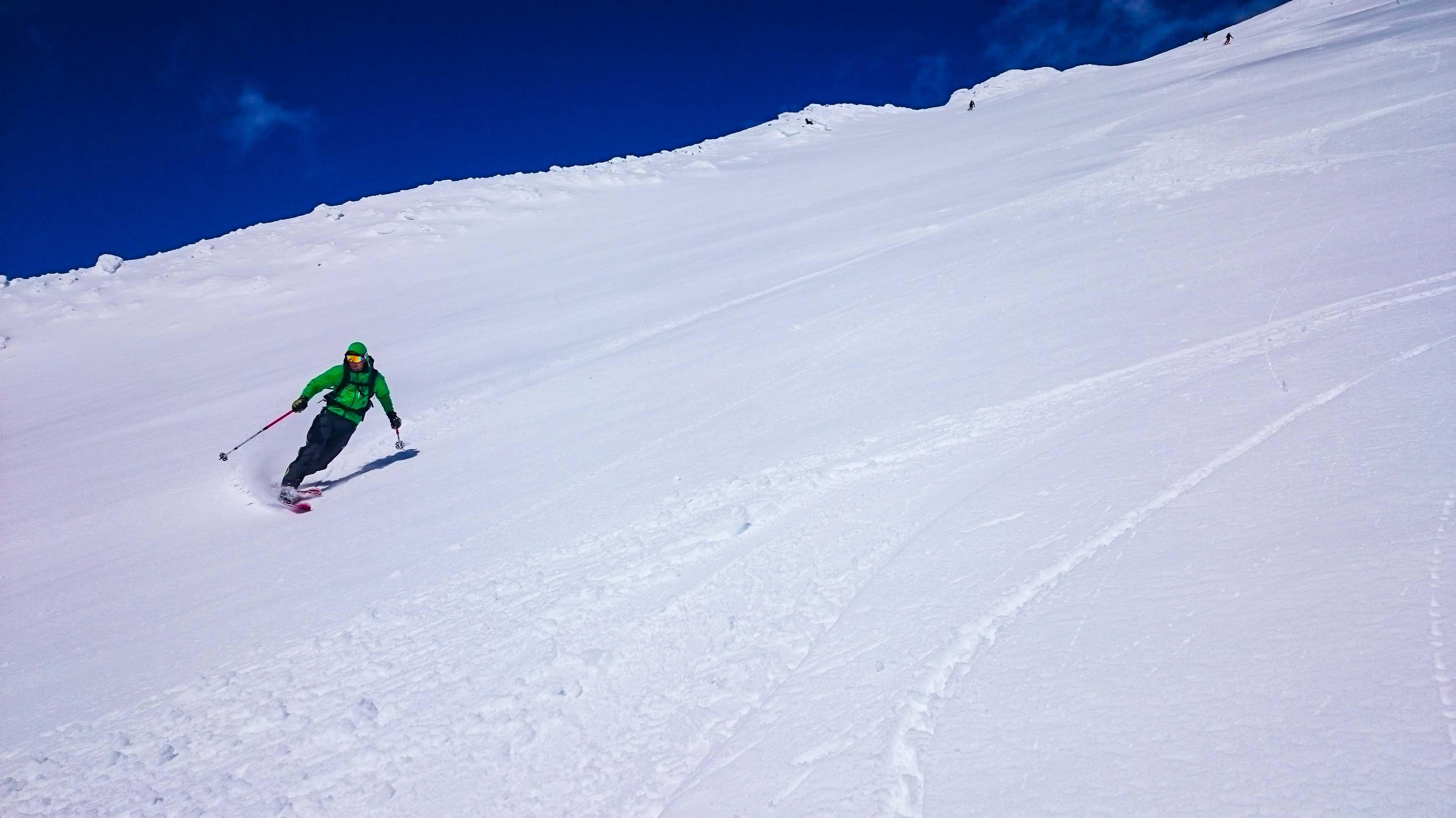 Skitourenreise Vulkan