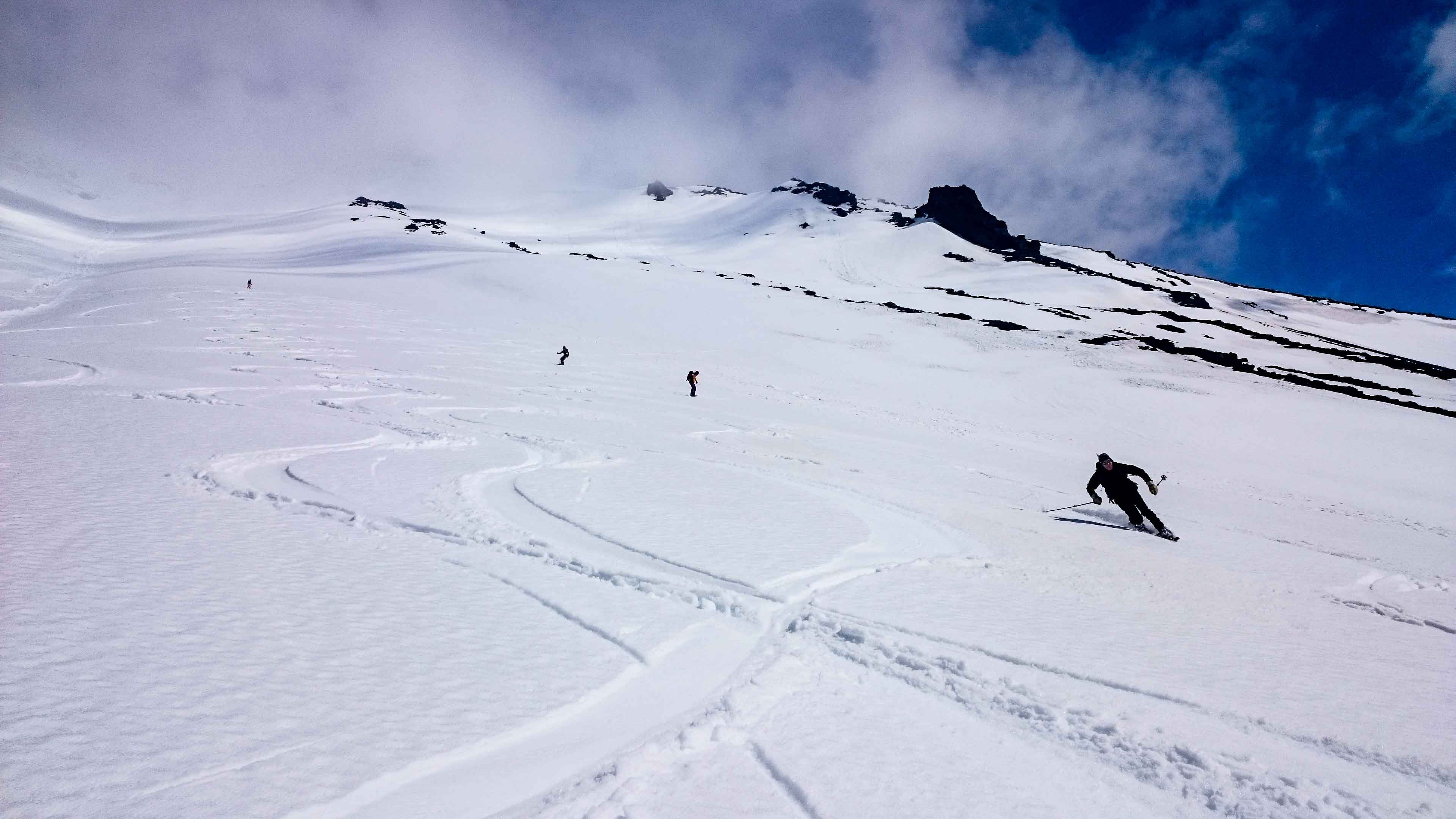 Skifahren in Chile