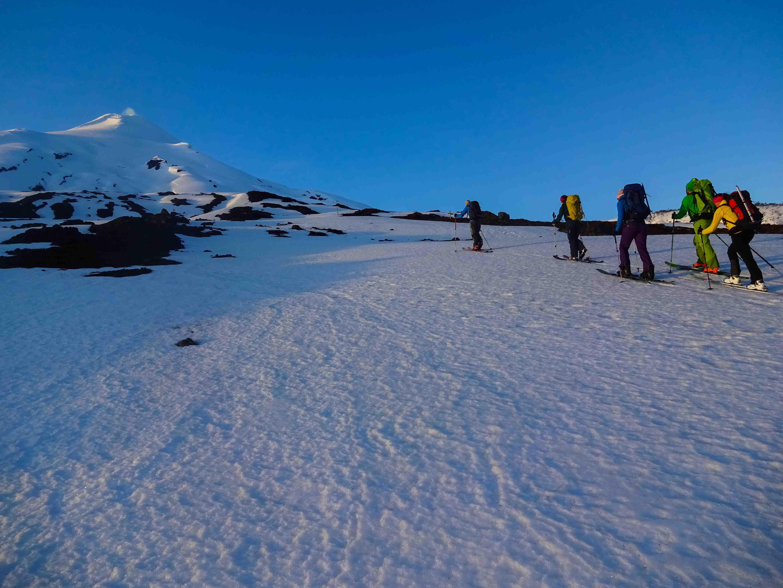 Skitouren Südamerika Vulkan