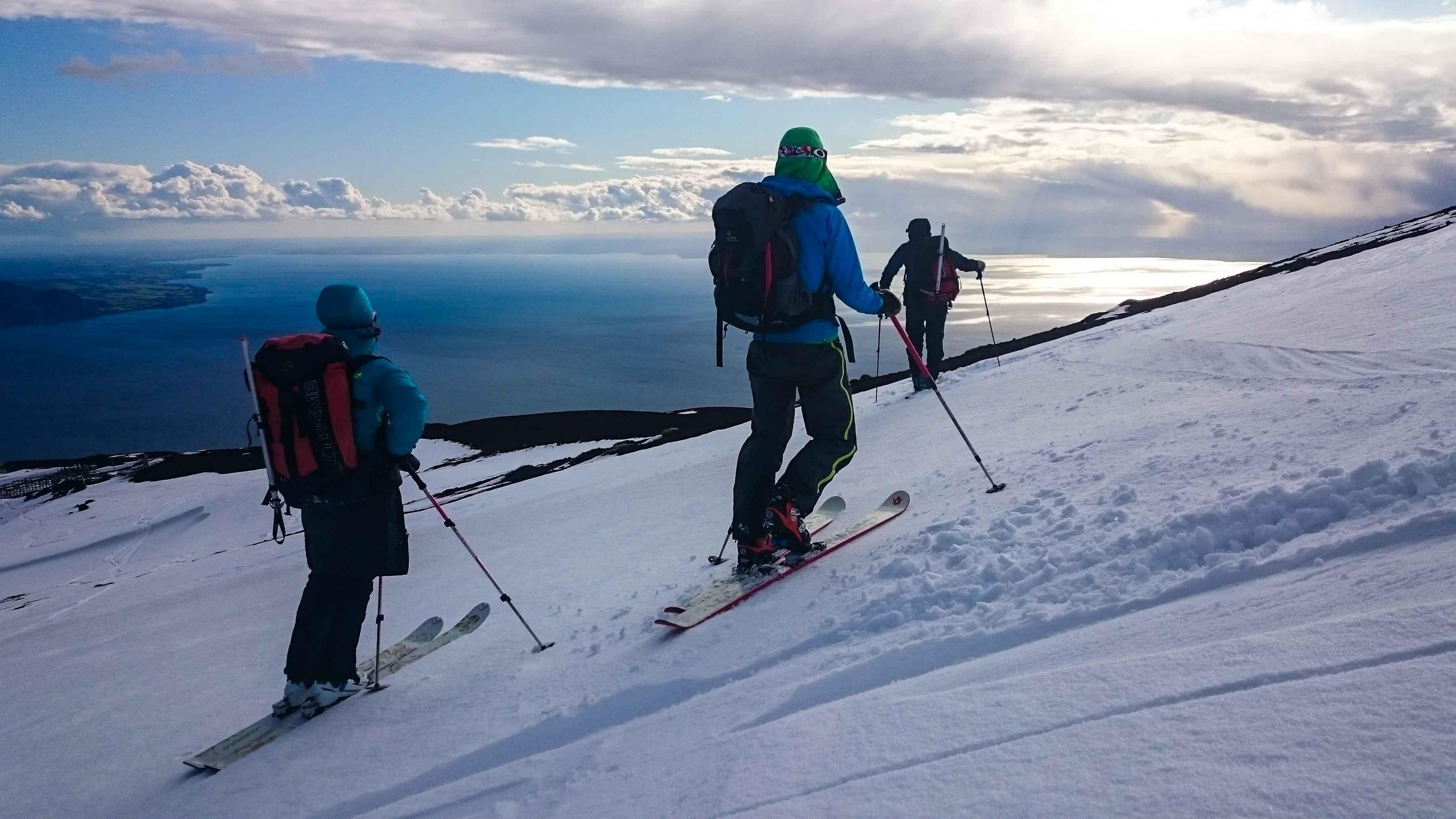 Chile Skitour