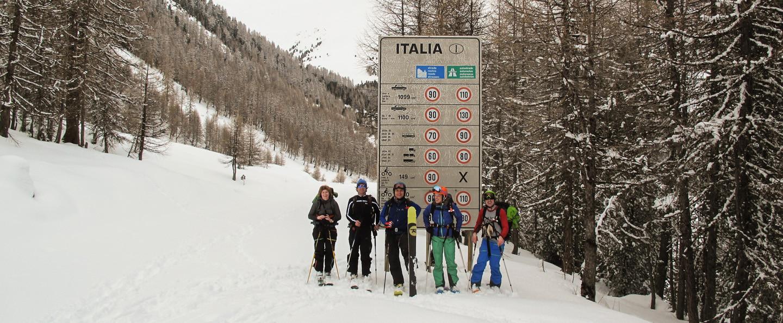 Skitour Transalp, Livignio