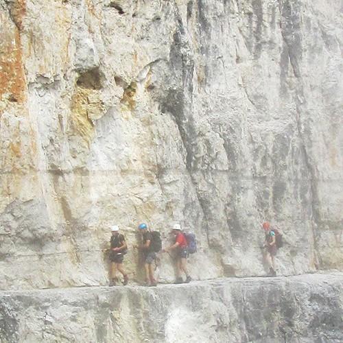 brenta klettersteig