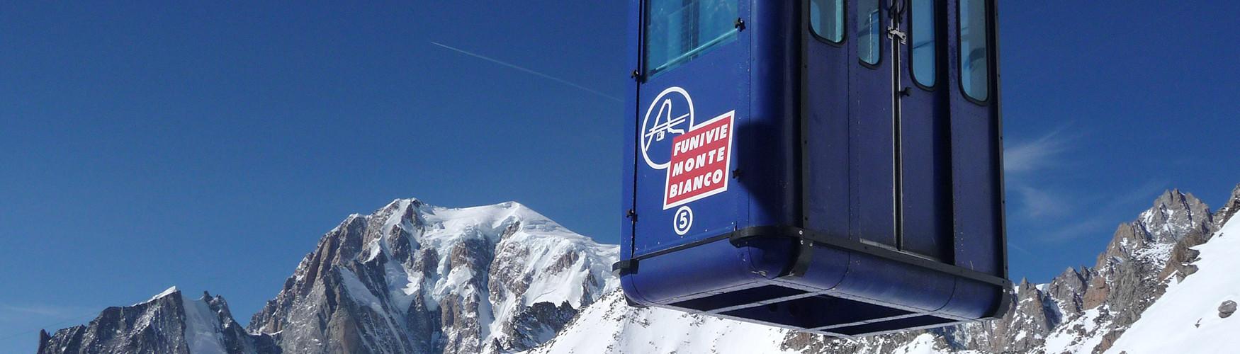 Freeride Courmayeur Italien