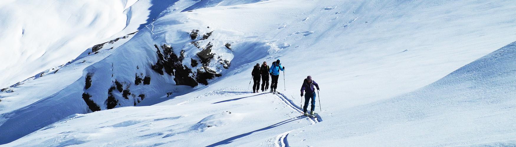 Skitouren Ammerer Hof, Österreich
