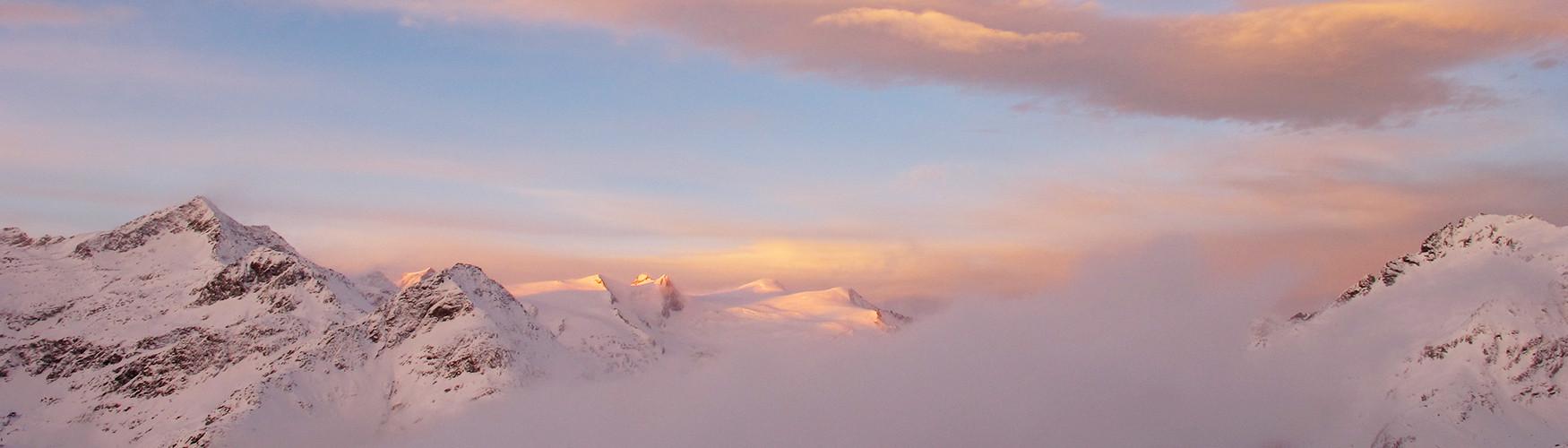 Skidurchquerung Tirol Österreich Großglockner