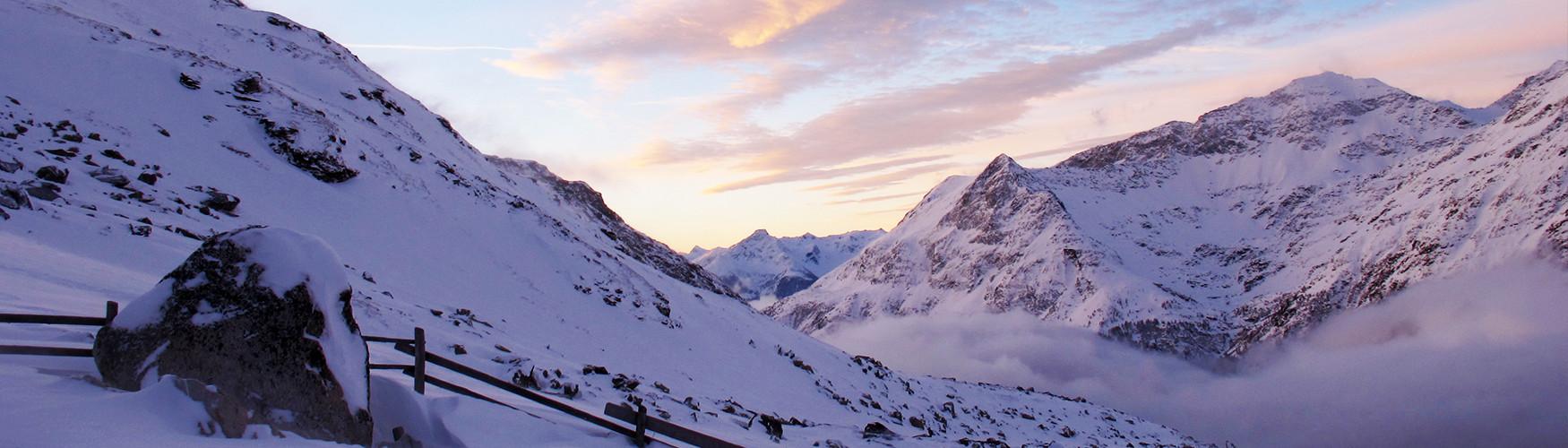 Skidurchquerung Tirol Österreich Hochtirol