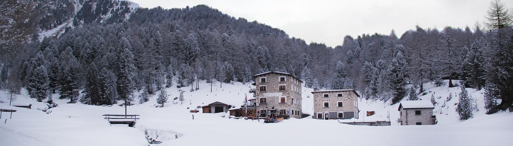 Skitour Stützpunkt, Skitouren Saoseohütte