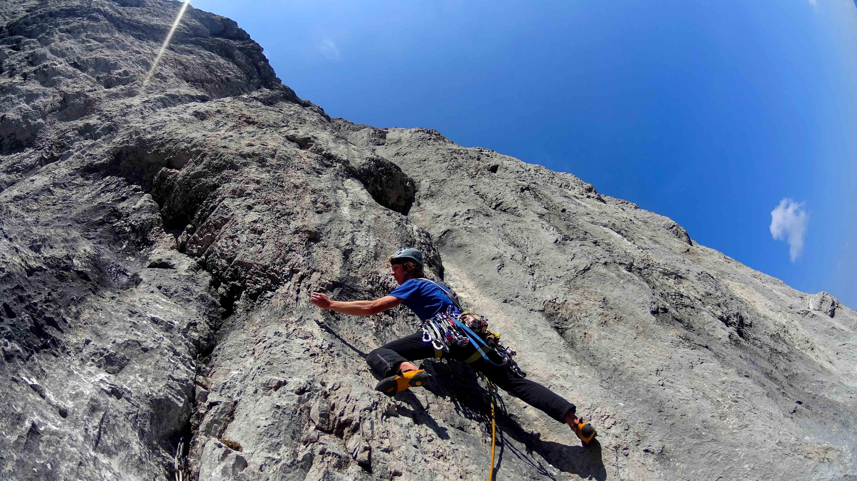 Wilder Kaiser Klettern Odysee