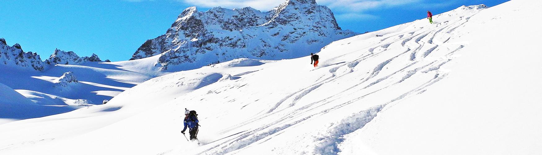 Skidurchquerung Engadin, Skitour Schweiz