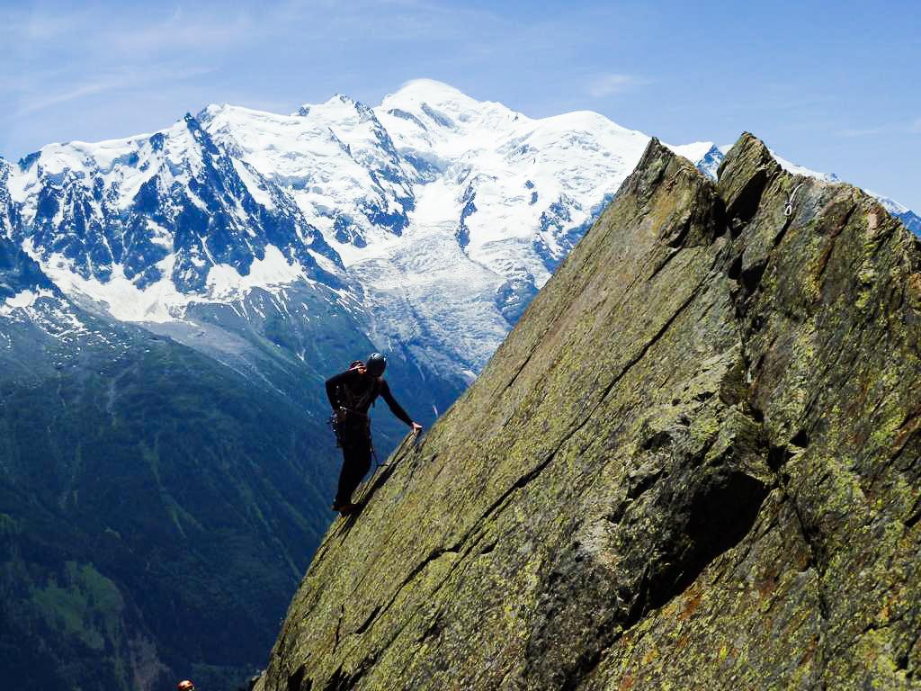 Bergführer Alpinkettern