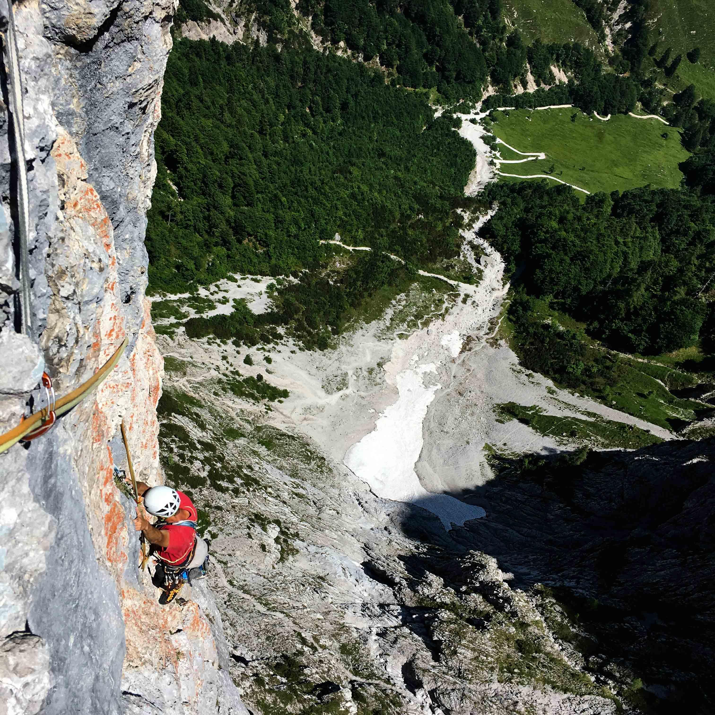 Wilder Kaiser Klettern, Pumprisse