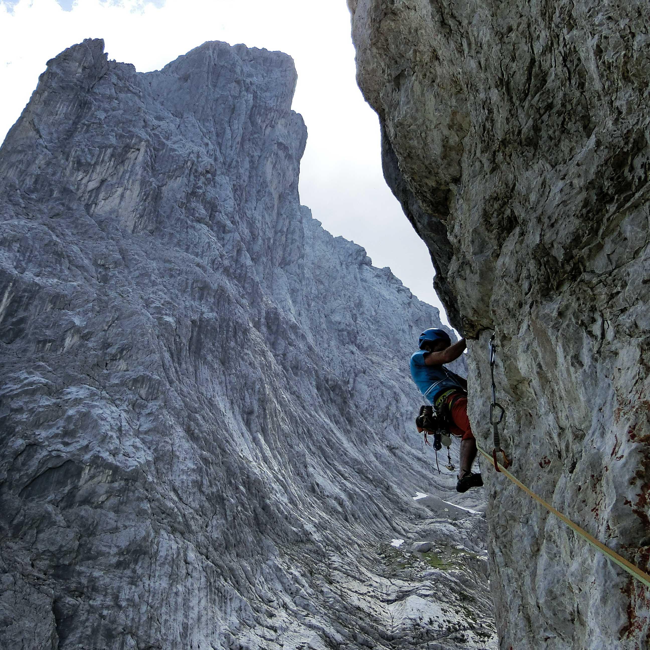 Klettern Wilder Kaiser, Bergführer Wilder Kaiser klettern