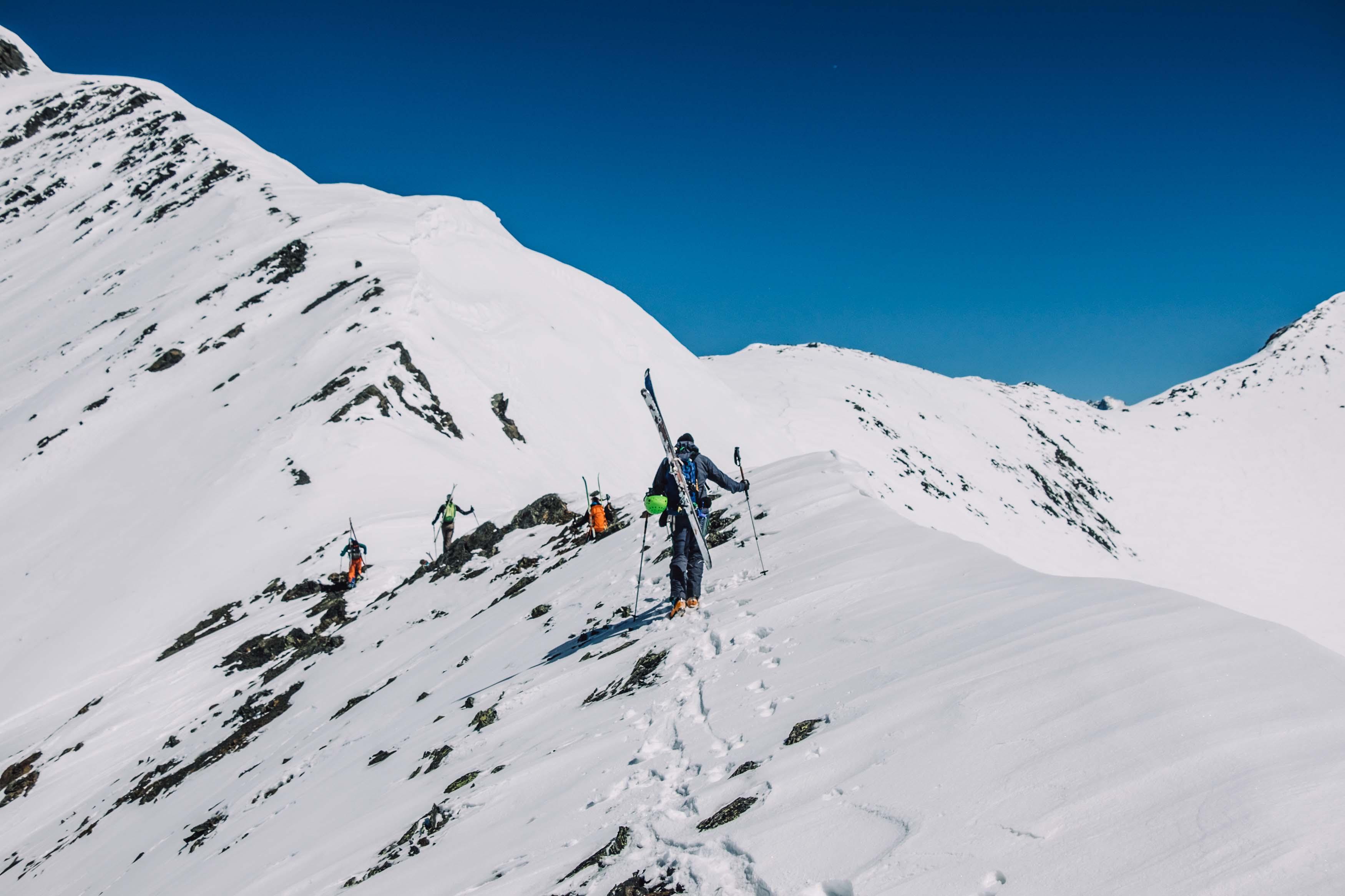 Climbing Swanetia