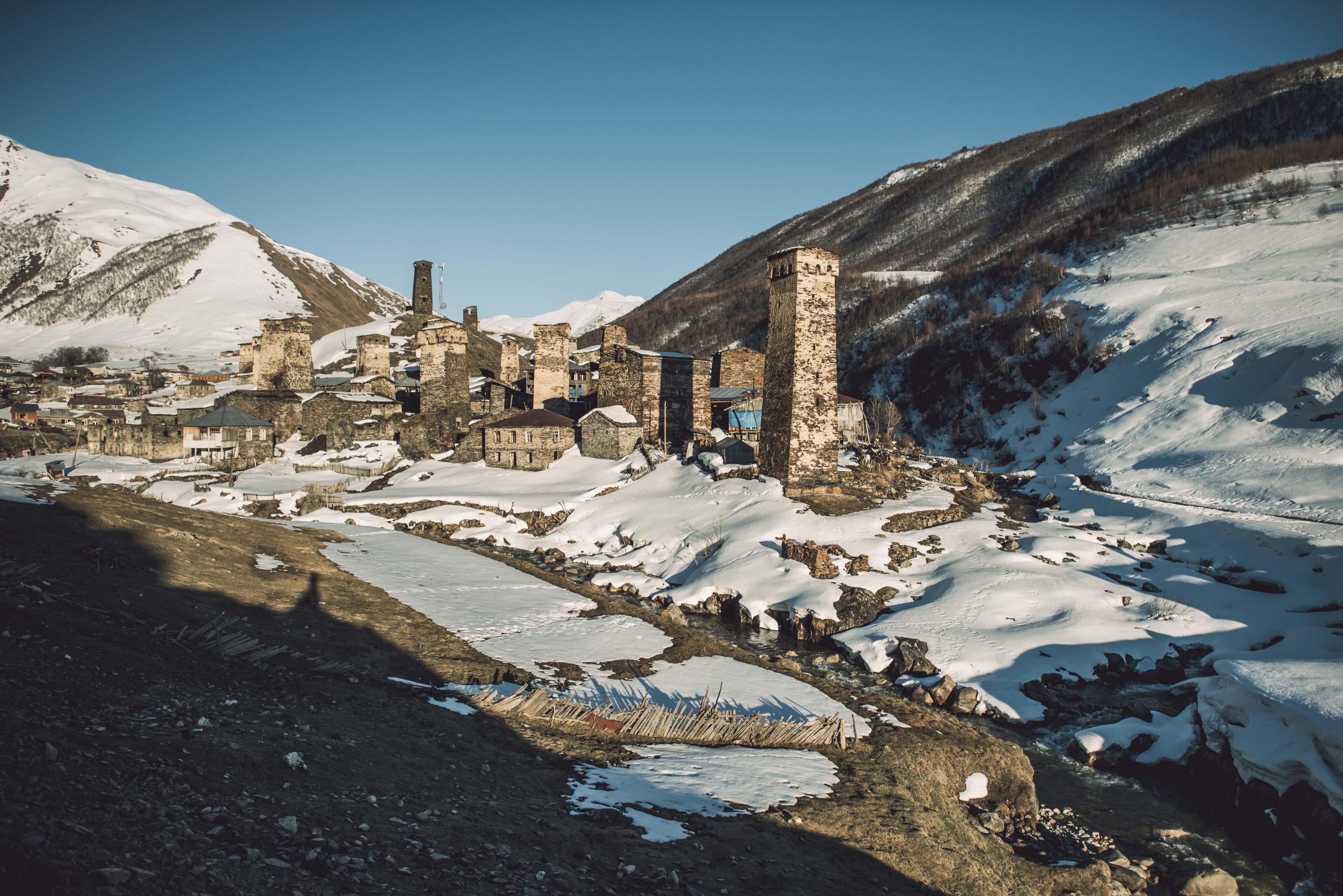 Ushguli Skitour