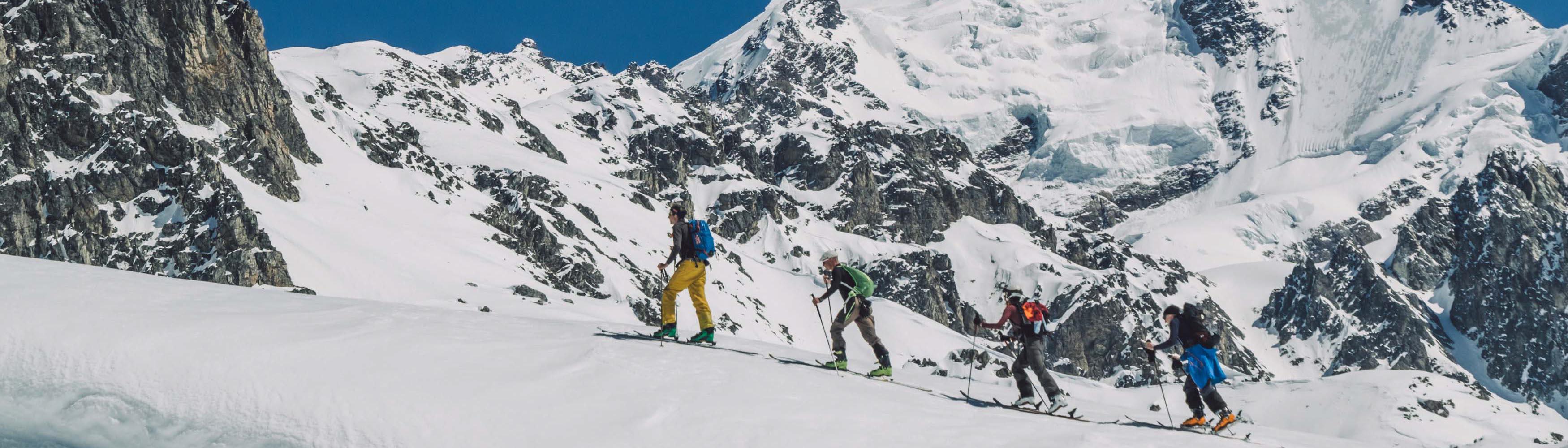Skitourengehen in Georgien