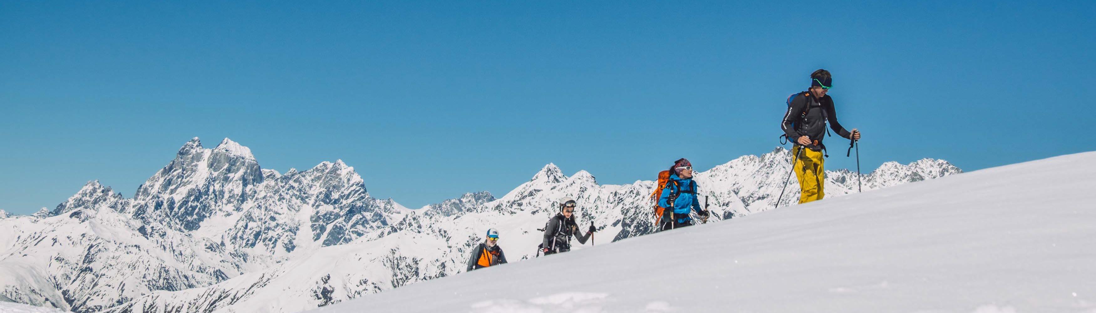Bergführer Georgien
