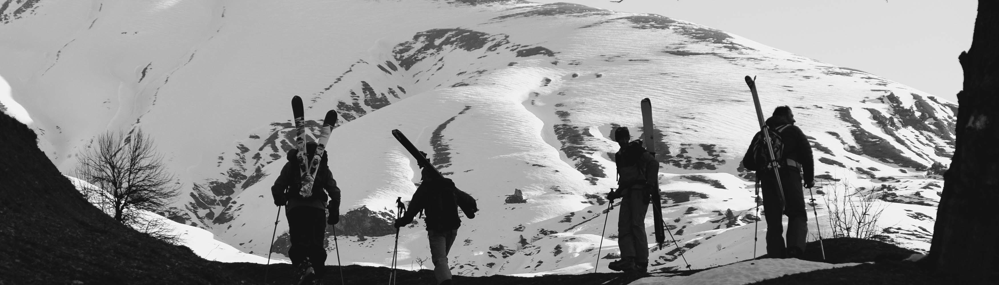 Skitour Georgien