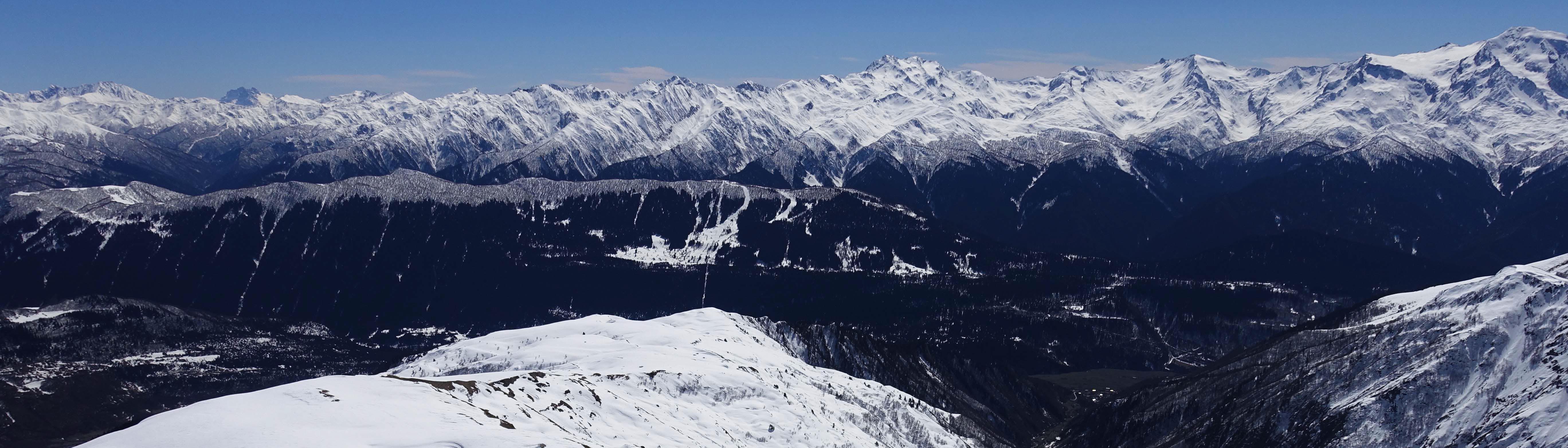 Skitouren Swanetien