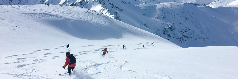 Freeride Kurs mit Bergführer