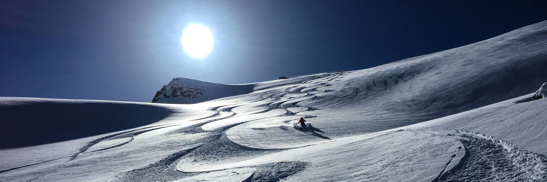 Zinal Skiing