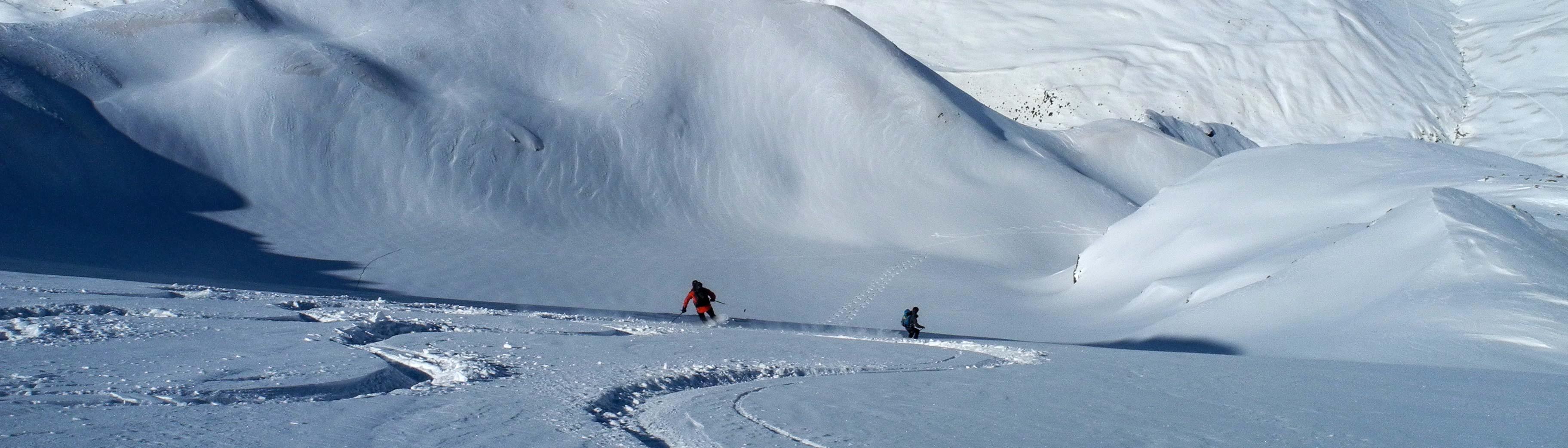 Skitouren Ortler, Branca Hütte Skitouren
