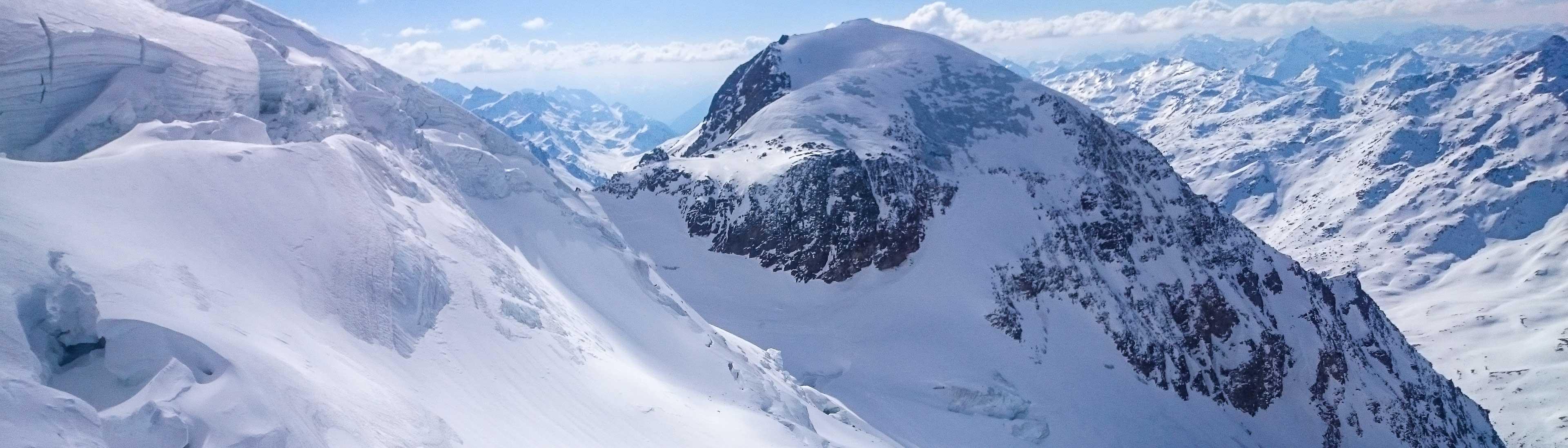 Skidurchquerung Ortler mit Bergführer