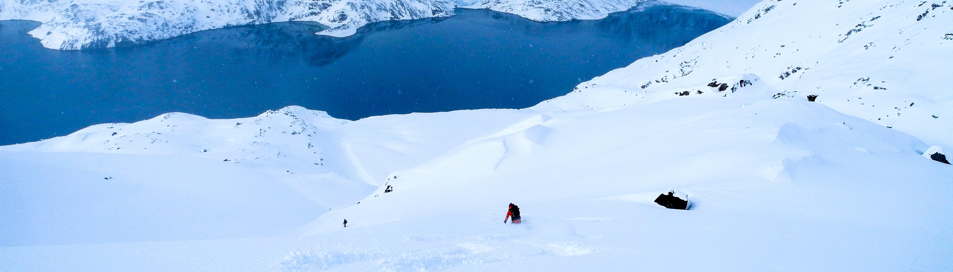 Skitouren Grönland, Greenland Skitouring
