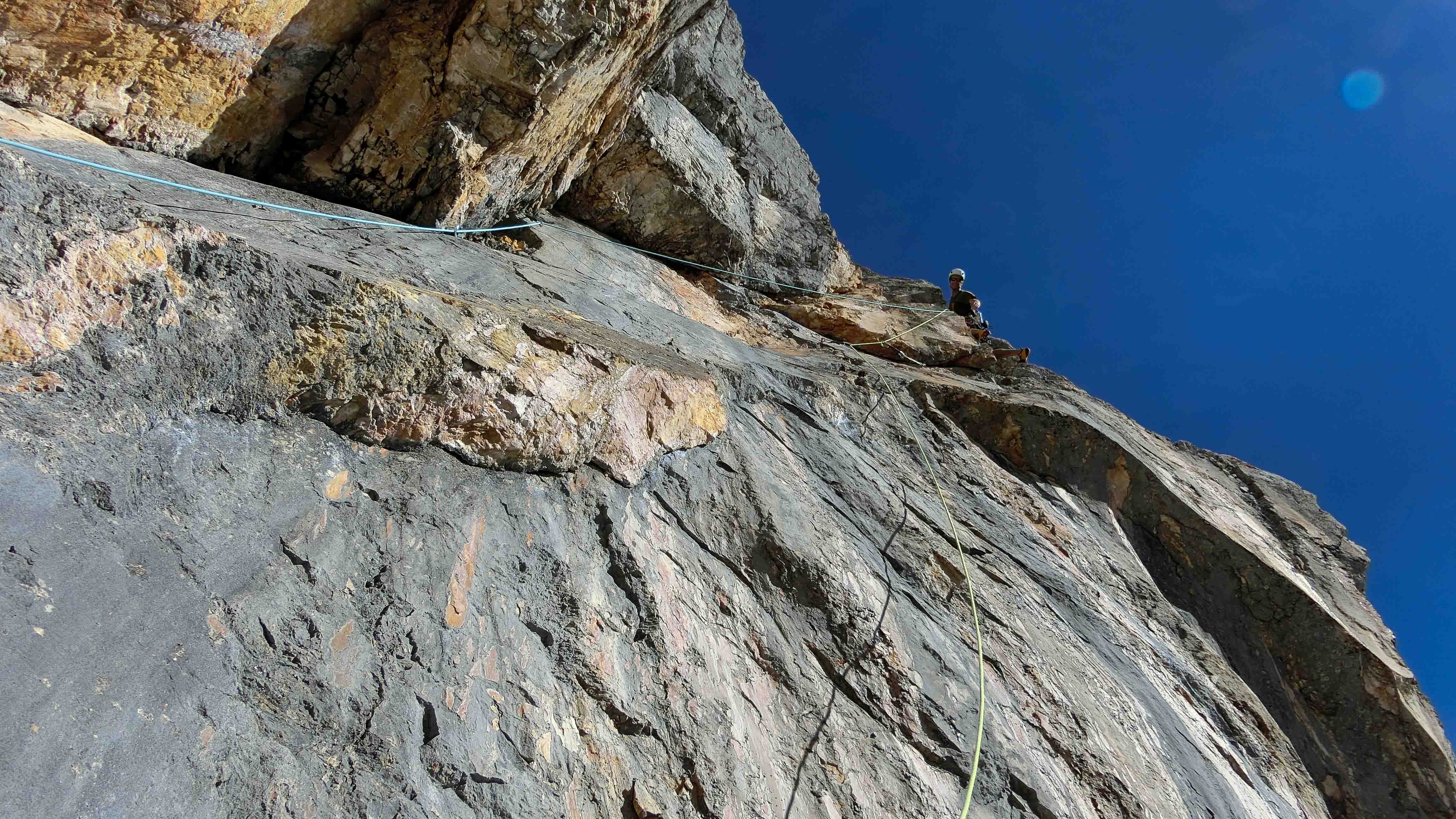 Locker vom Hocker, Klettern