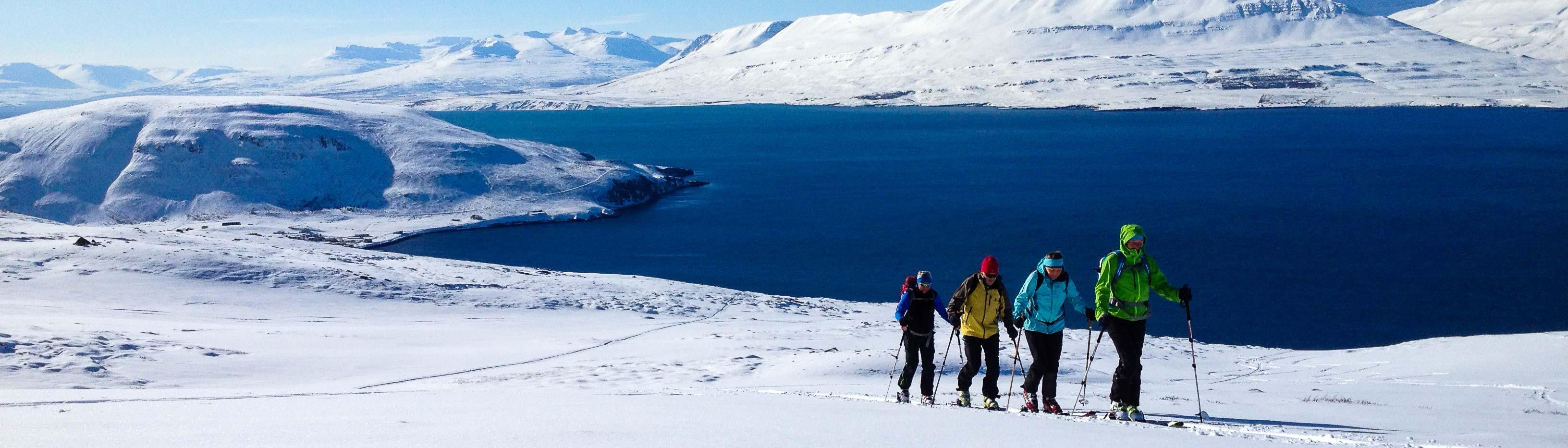 skiourenreise island