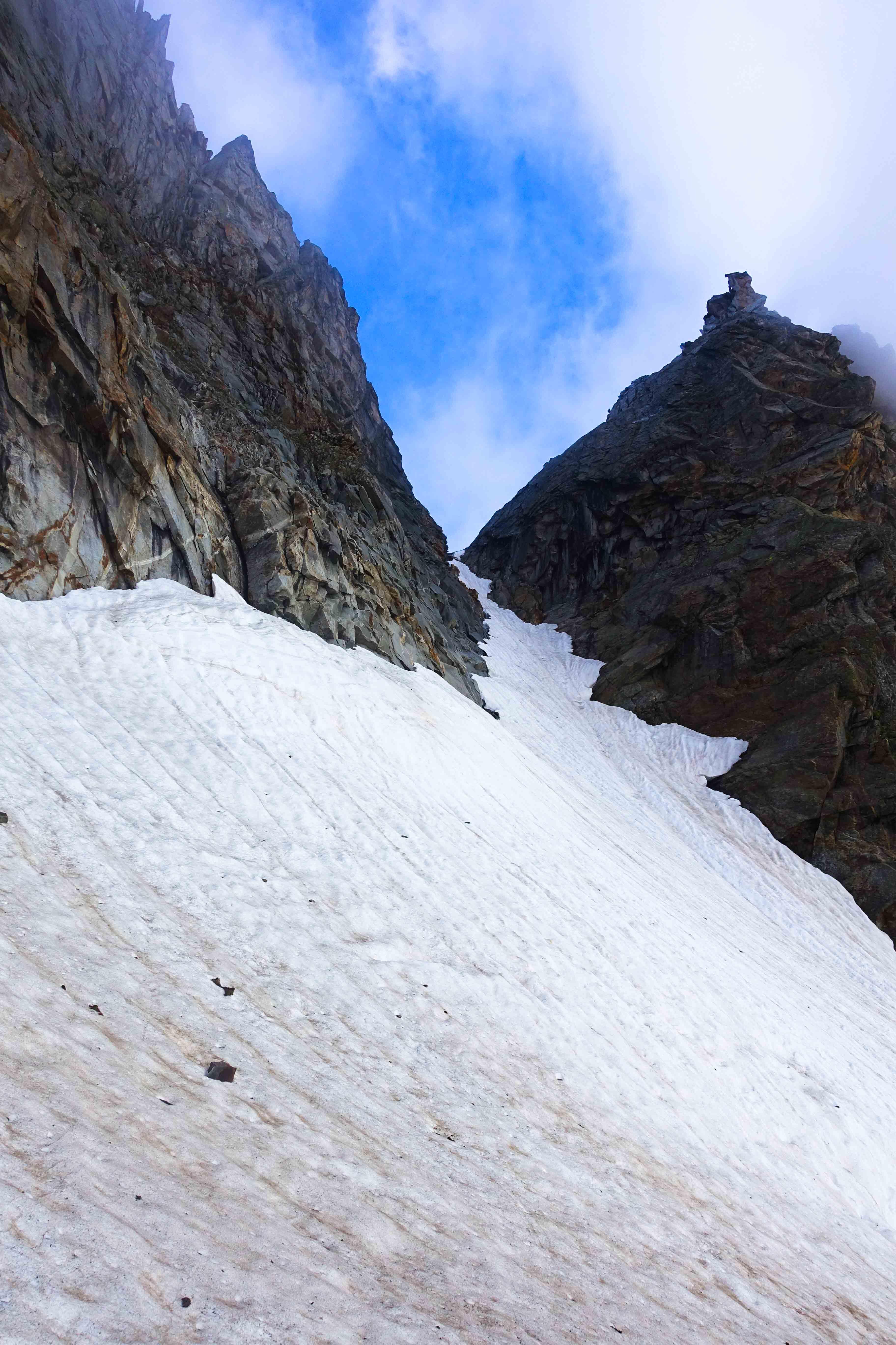 Loefler Scharte, Klettern Zillertal