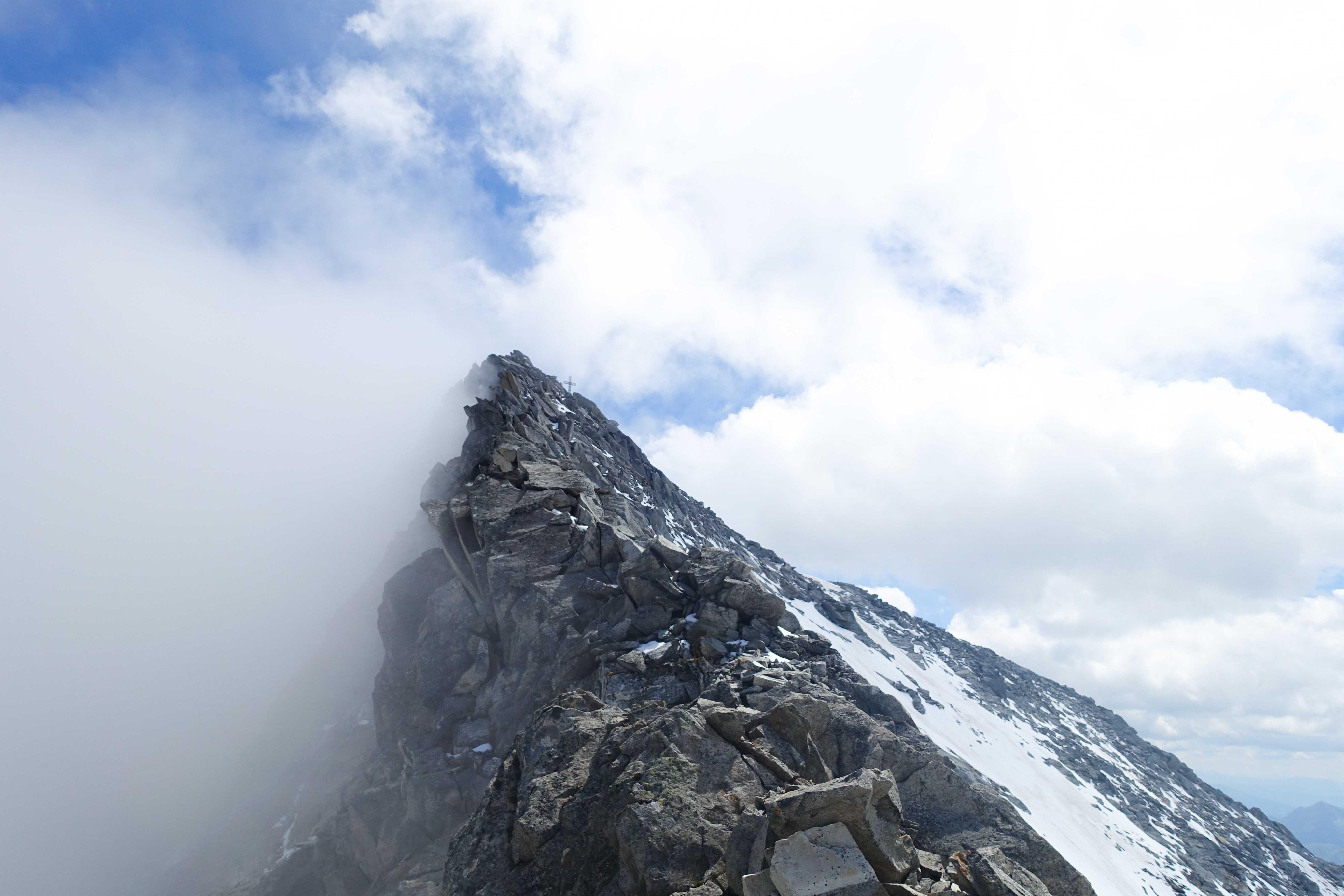 Gipfelgrat Löffler, Klettern, Zillertal, Bergführer