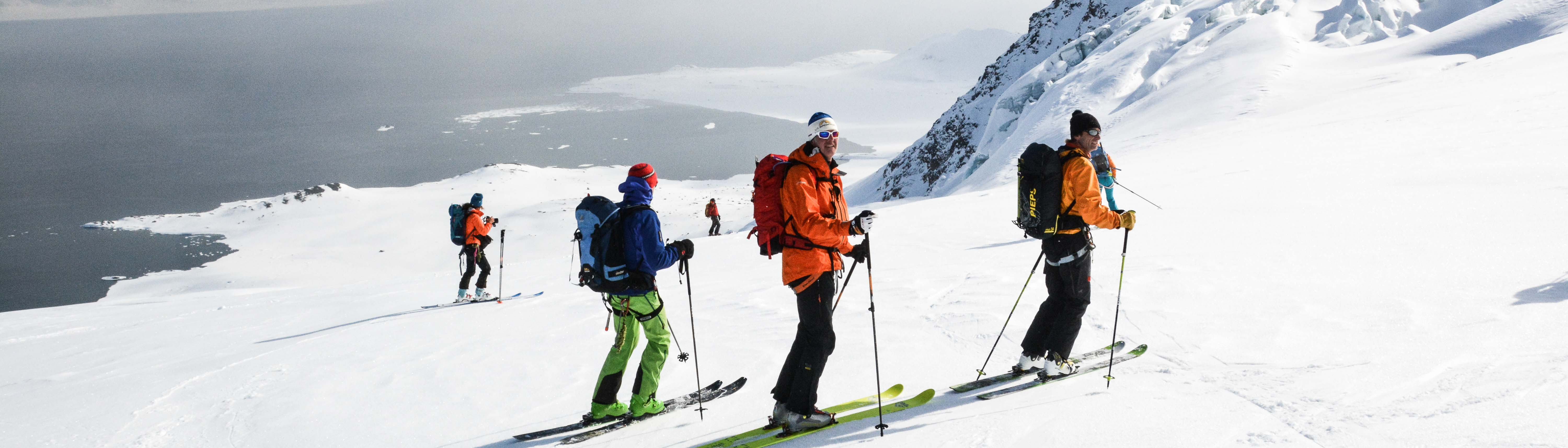 Skitouren Spitzbergen mit Schiff