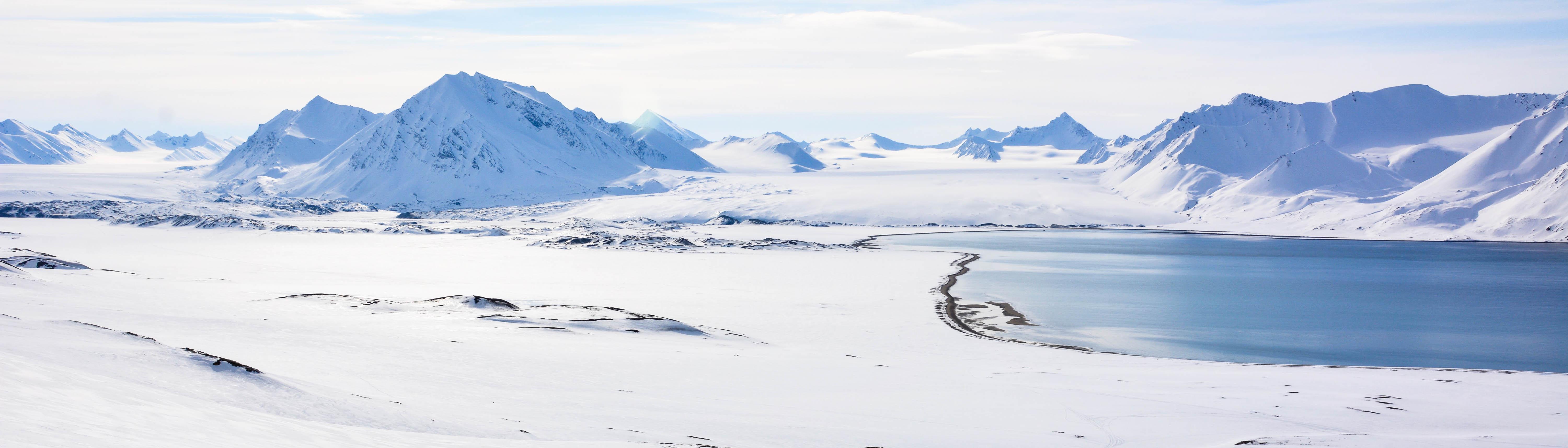 Skitouring Svalbard