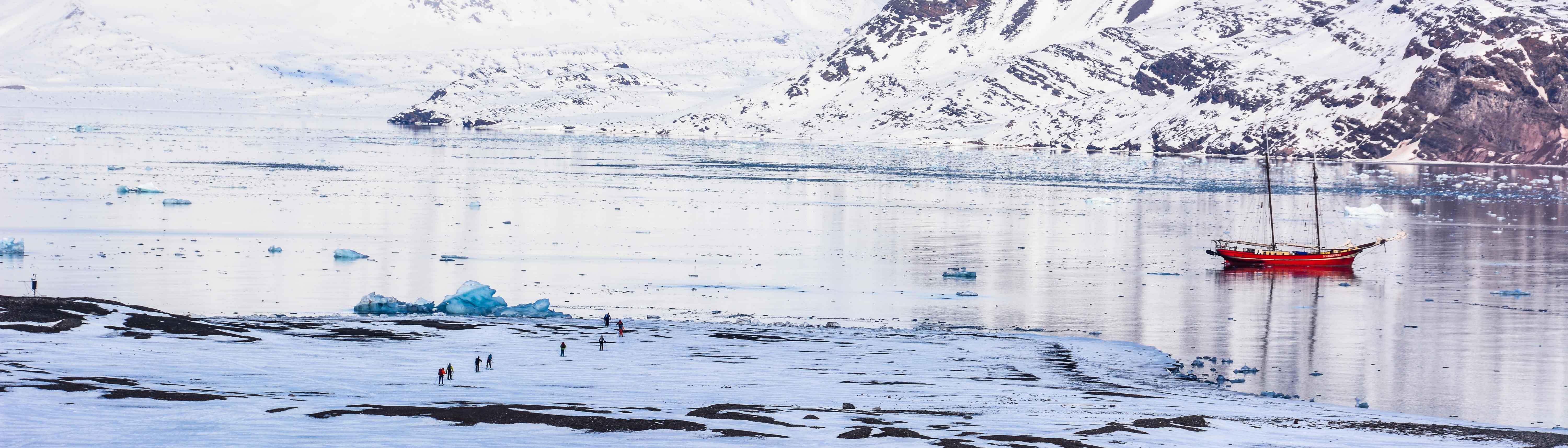 Skitouren auf Spitzbergen
